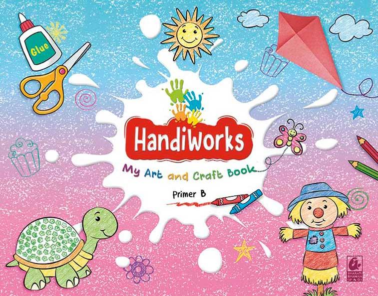 HandiWorks My Art and Craft Book Primer B