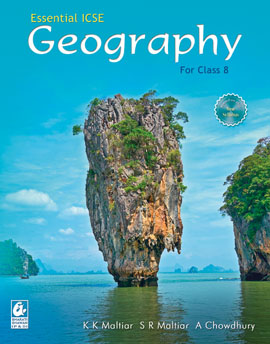 Essential ICSE Geography for Class 8