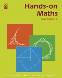 Hands-on Maths for Class 7
