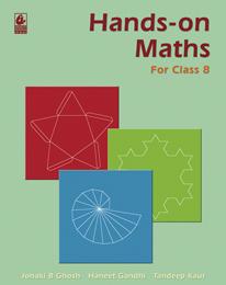 Hands-on Maths for Class 8
